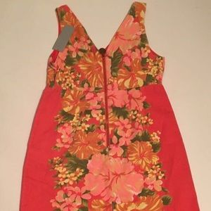 Tracy Feith Floral Print Summer Dress NWT